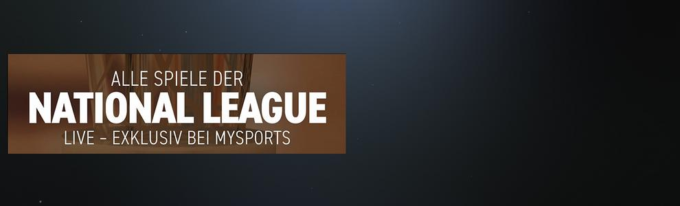 Alle Spiele der National League live - exklusiv bei MySports
