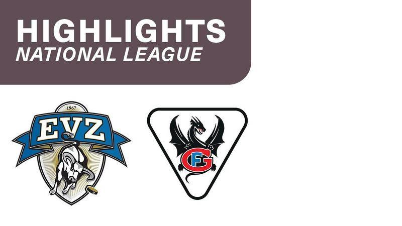 Zug vs. Fribourg 0:4 - Highlights National League