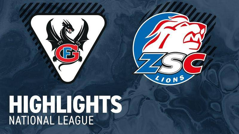 Fribourg vs. ZSC Lions 4:2 - Highlights National League