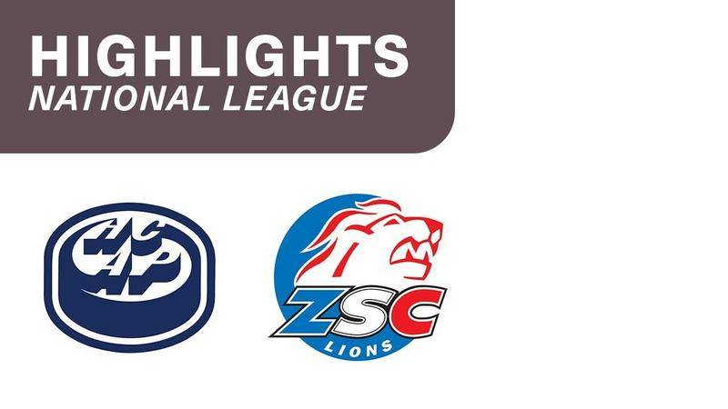Ambri vs. ZSC Lions  2:3 - Highlights National League
