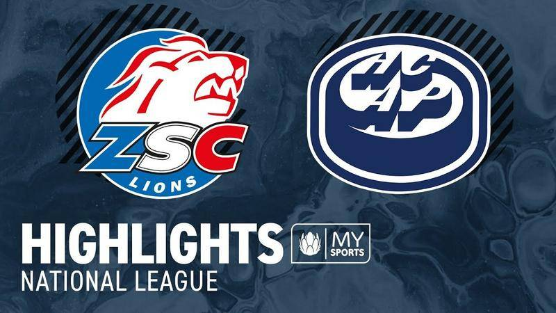 ZSC Lions vs. Ambri 4:2 - Highlights National League