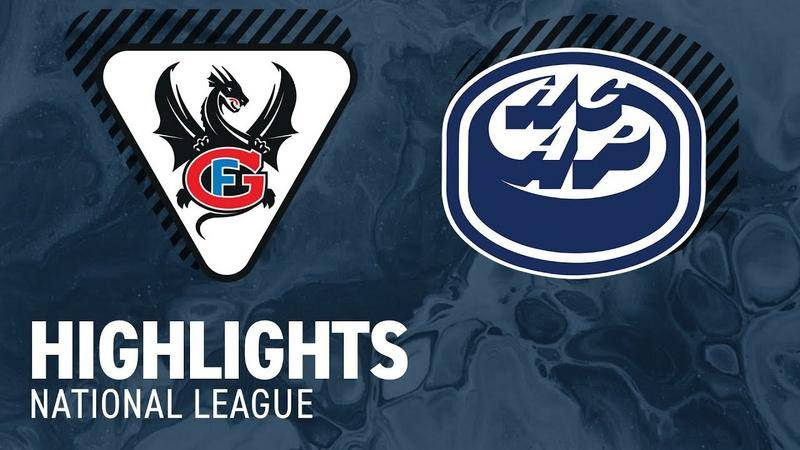 Fribourg vs. Ambri 3:1 - Highlights National League