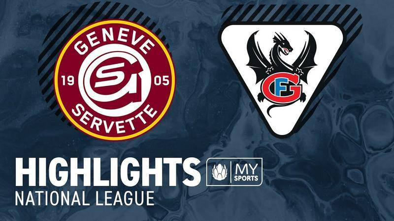 Genf vs. Fribourg 4:0 - Highlights National League l Playoff-Viertelfinals, Spiel 4 (3:1)
