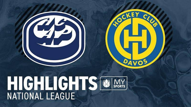 Ambri vs. Davos 2:1 - Highlights National League