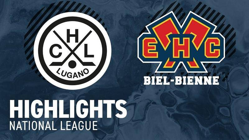 Lugano vs. Biel 2:6 - Highlights National League