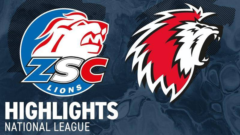 ZSC Lions vs. Lausanne 3:1 - Highlights National League