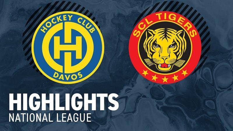 Davos vs. SCL Tigers 3:1 - Highlights National League