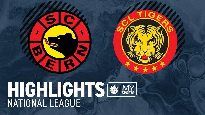 Bern vs. SCL Tigers 4:1 - Highlights National League