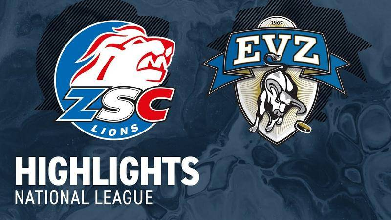 ZSC Lions vs. Zug 3:6 - Highlights National League