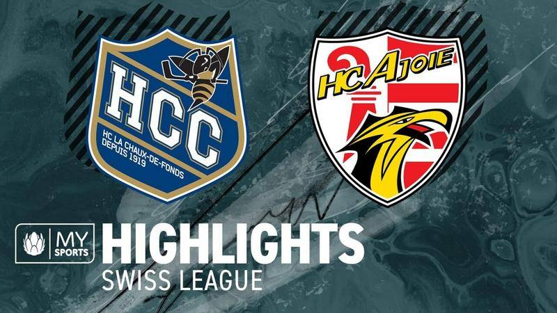 La Chaux-de-Fonds vs. Ajoie 2:5 - Highlights National League