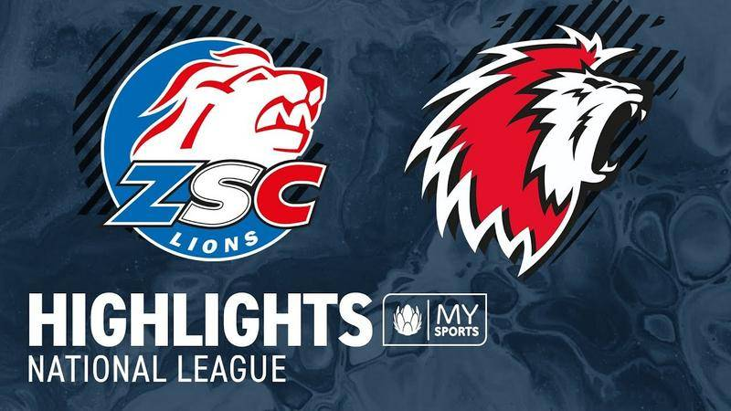ZSC Lions vs. Lausanne 0:2 - Highlights National League
