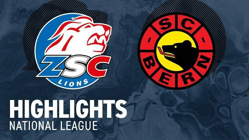 ZSC Lions vs. Bern 3:0 - Highlights National League