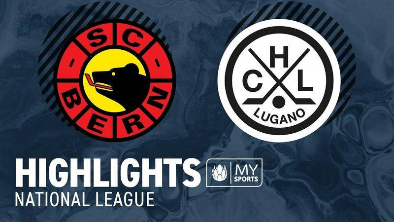 Bern vs. Lugano 3:4 nV. - Highlights National League
