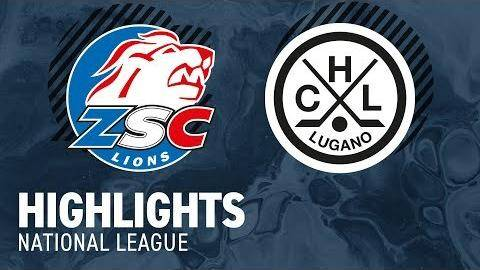 ZSC Lions - HC Lugano 2-1 (1-0; 1-0; 0-1)
