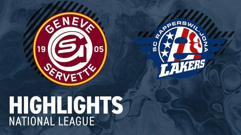 Genf vs. SCRJ Lakers 1:0 - Highlights National League