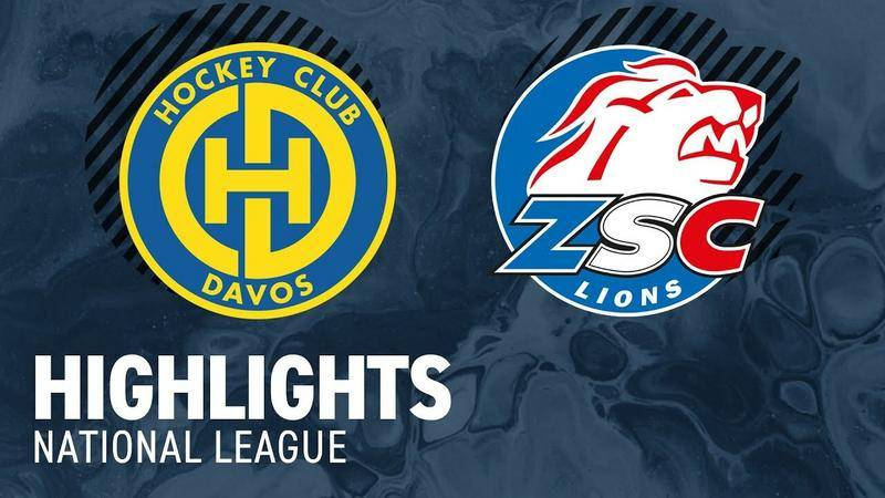 Davos vs. ZSC Lions 2:5 - Highlihts National League