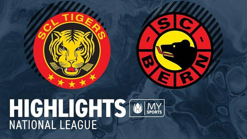 SCL Tigers vs. Bern 4:5 - Highlights National League