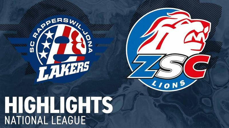 SCRJ Lakers vs. ZSC Lions 1:2 n.V. - Highlights National League