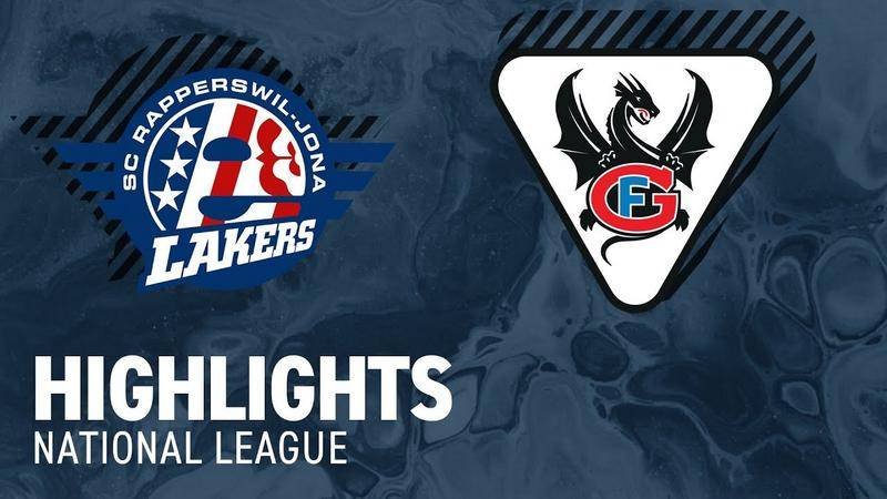 SCRJ Lakers vs. Fribourg 3:9 - Highlights National League