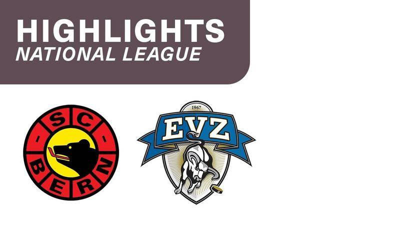 Bern vs. Zug 4:5 n. P. - Highlights National League