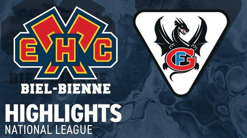 Biel vs. Fribourg 4:5 - Highlights National League