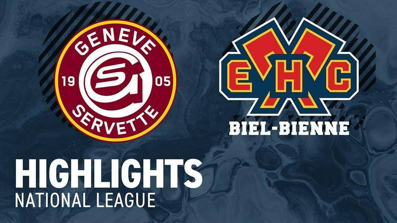 Genf vs. Biel 1:5 - Highlights National League