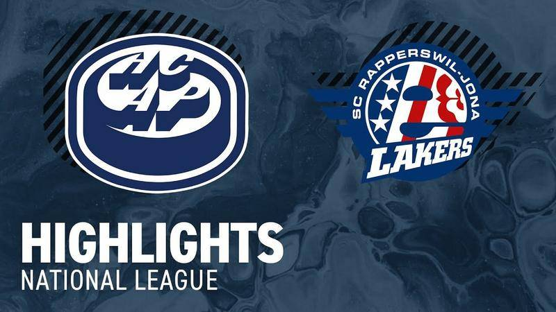 Ambri vs. SCRJ Lakers 5:3 - Highlights National League