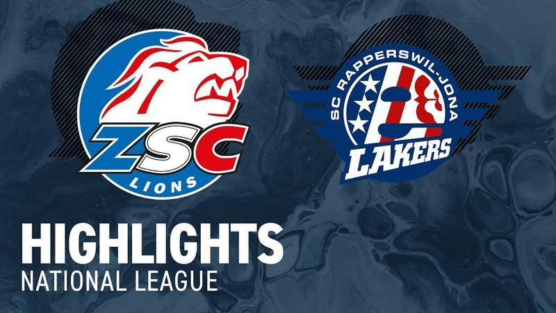 ZSC Lions vs. SCRJ Lakers 5:3 - Highlights National League