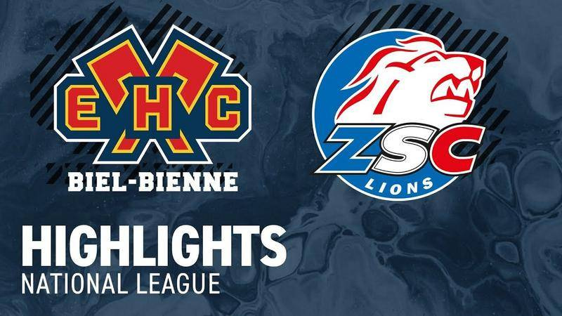 Biel vs. ZSC Lions 4:5 nV - Highlights National League