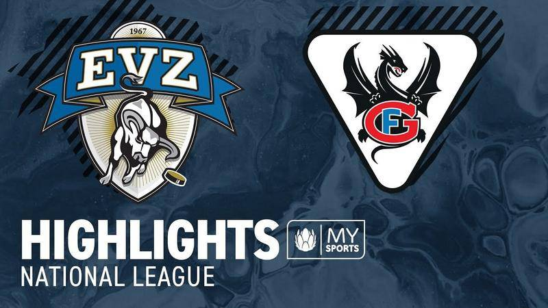 Zug vs. Fribourg 4:0 - Highlights National League