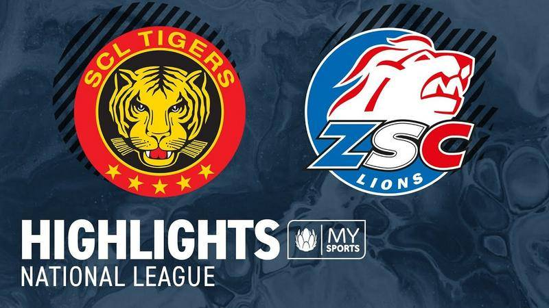 SCL Tigers vs. ZSC Lions 2:5 - Highlights National League