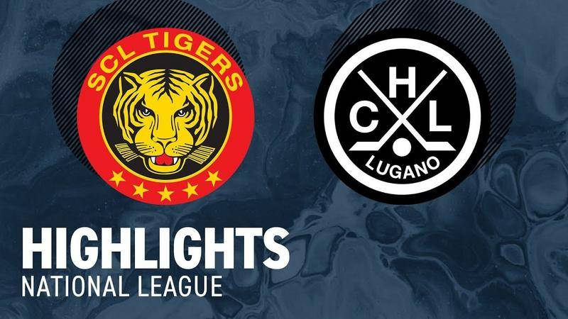 SCL Tigers vs. Lugano 2:4 - Highlights National League
