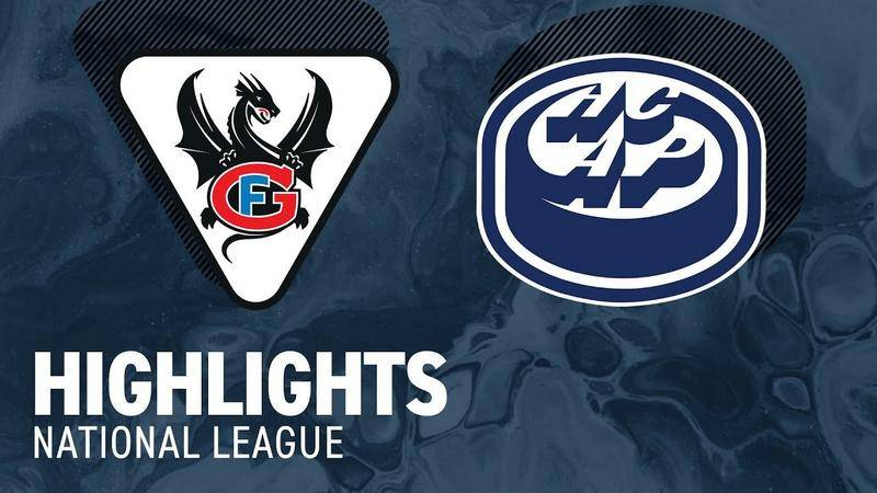 Fribourg vs. Ambri 4:2 - Highlights National League
