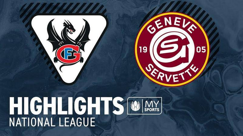 Fribourg vs. Genf 0:5 - Highlights National League l Viertelfinal, Spiel 5 (1:4)