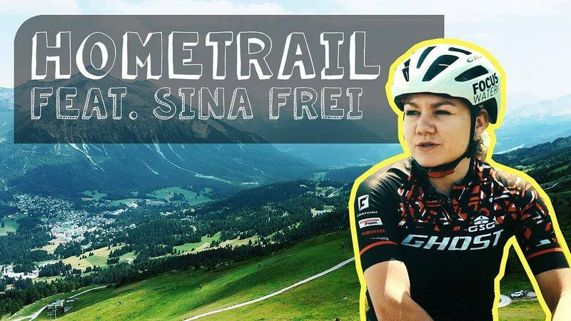 Hometrail mit Sina Frei - Biken in der Lenzerheide, backen in Uetikon
