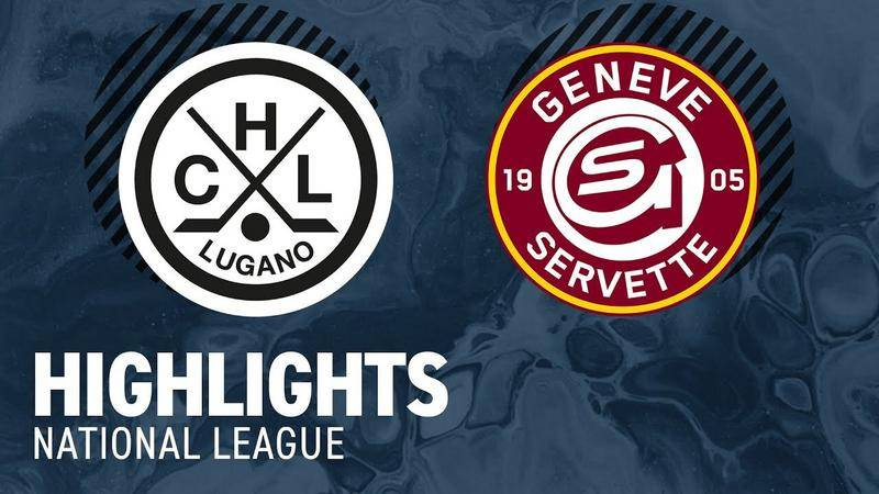 Lugano vs. Genf 7:2 - Highlights National League