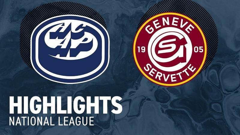 Ambri vs. Genf 2:1 - Highlights National League