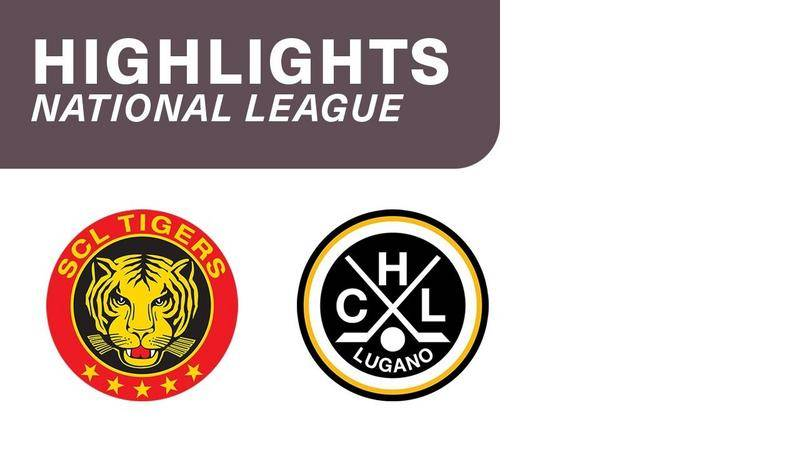 SCL Tigers vs. Lugano 4:3 n. P. - Highlights National League