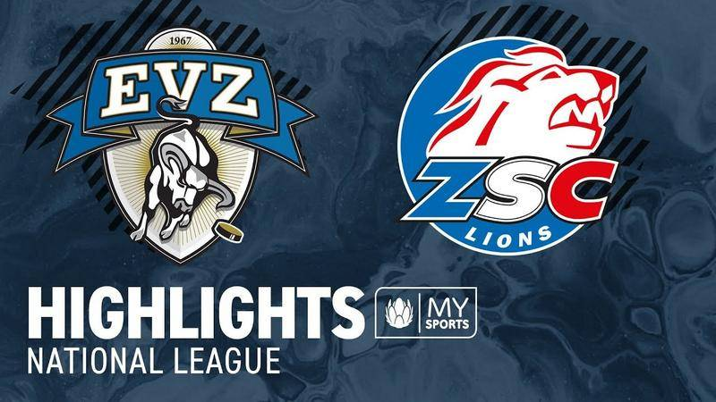 Zug vs. ZSC Lions 1:2 - Highlights National League