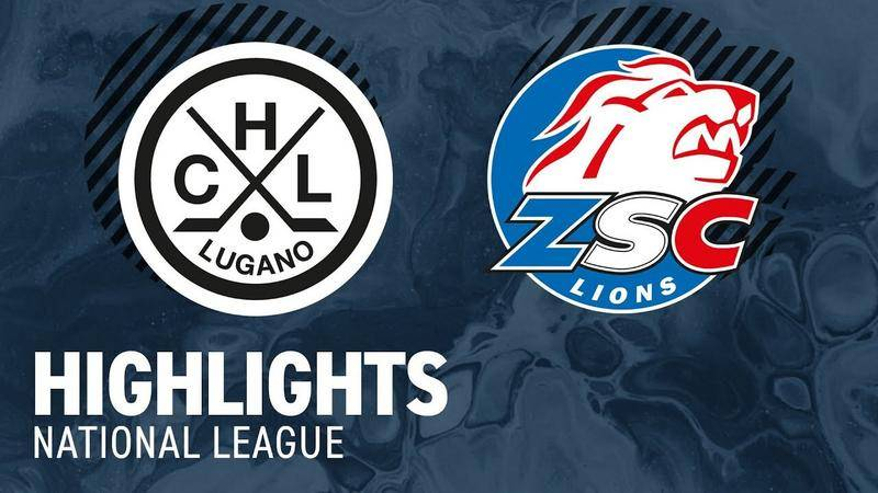 HC Lugano - ZSC Lions 1-5 (0-3;1-0;0-2)