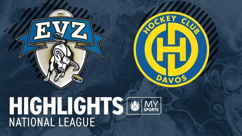 Zug vs. Davos 4:2 - Highlights National League