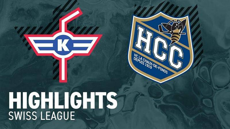 Kloten vs. La Chaux-de-Fonds 7:1 - Highlights Swiss League