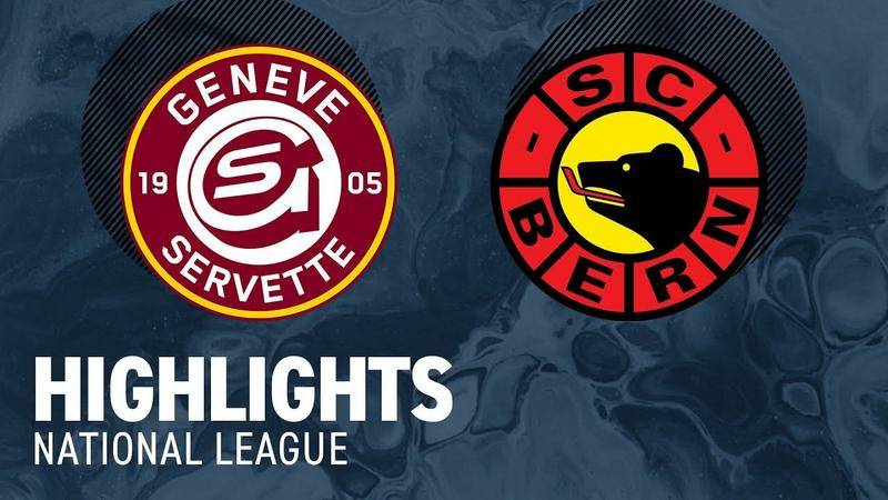 Genf vs. Bern 5:3 - Highligts National League