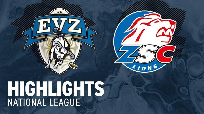 Zug vs. ZSC Lions 8:2 - Highlights National League