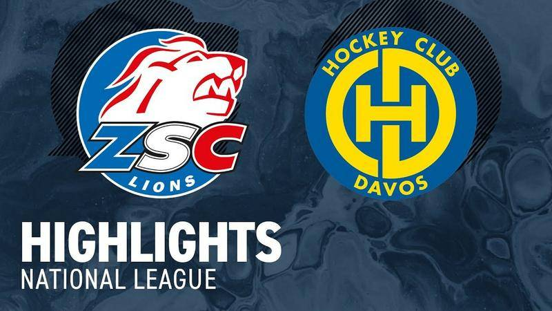 ZSC Lions vs. Davos 6:3 - Highlights National League