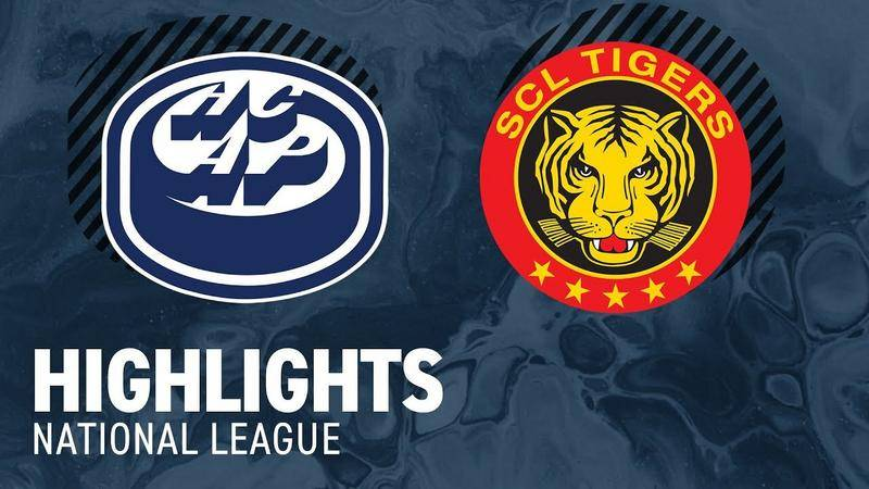 Ambri vs. SCL Tigers 3:1 - Highlights National League