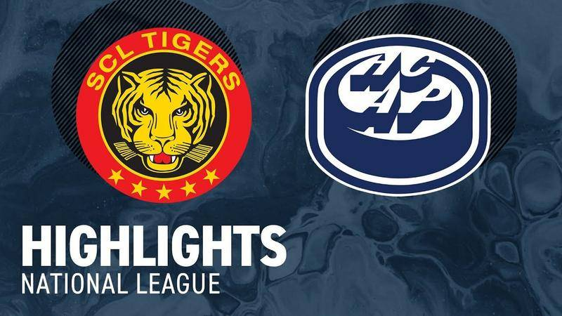 SCL Tigers vs. Ambri 3:2 - Highlights National League