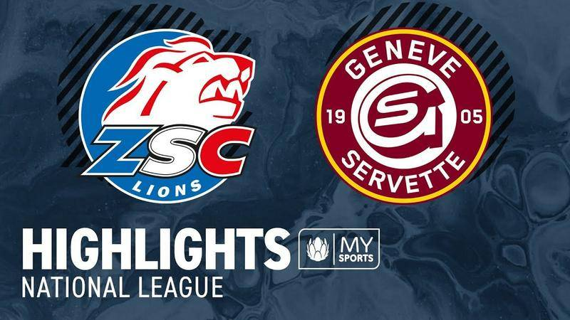 ZSC Lions vs. Genf 1:4 - Highlights National League l Halbfinal, Spiel 3 (0:3)