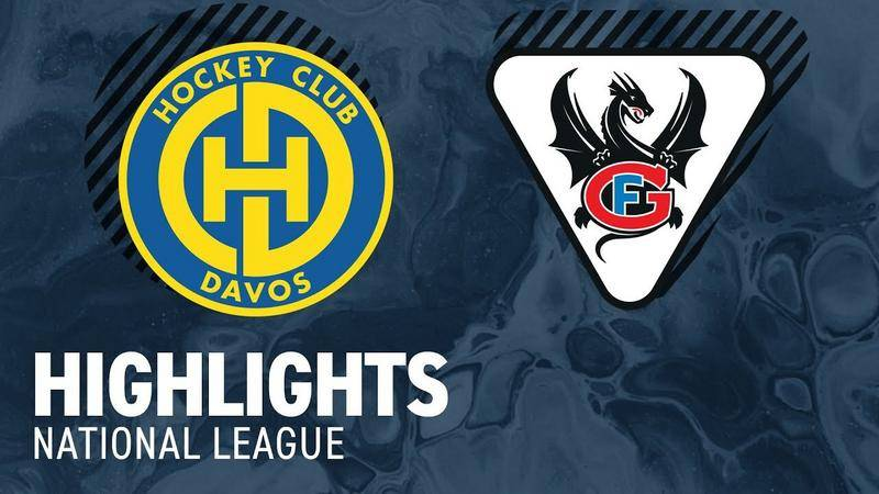 Davos vs. Fribourg 5:2 - Highlights National League