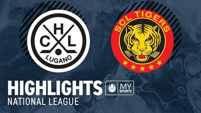 Lugano vs. SCL Tigers - Highlights National League